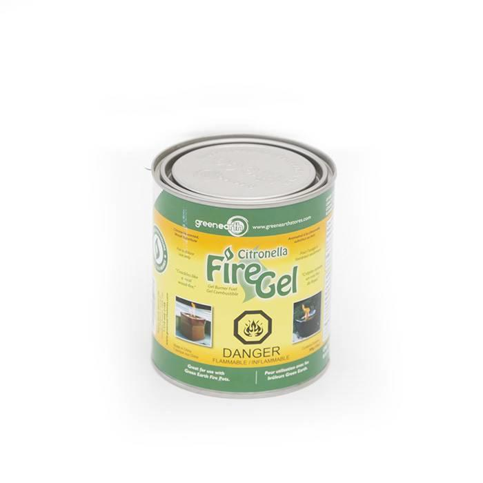 Fire Gel Citronella With Crackle 13oz