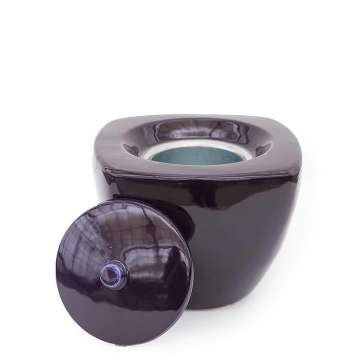 Fire Pot Large Square Limited Edition Violet