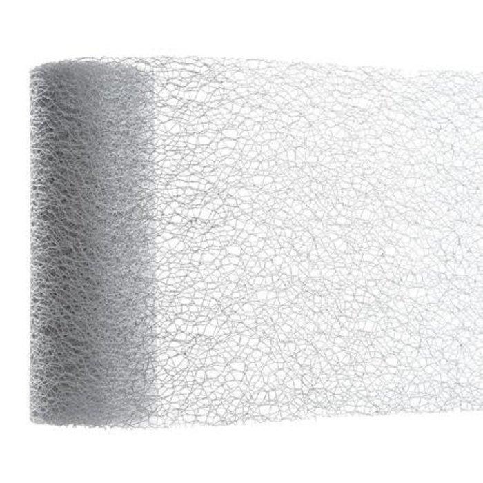 "Silver Fabric 6"" x 80"""