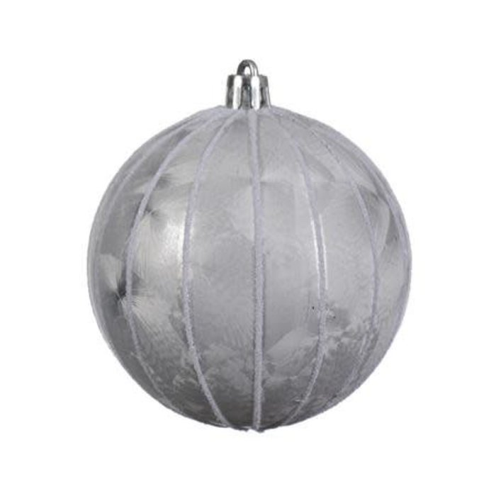 """Ice Lacquer Winter White Bauble 3"""""""