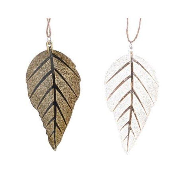 """Bronze Plastic Leaf 4"""""""