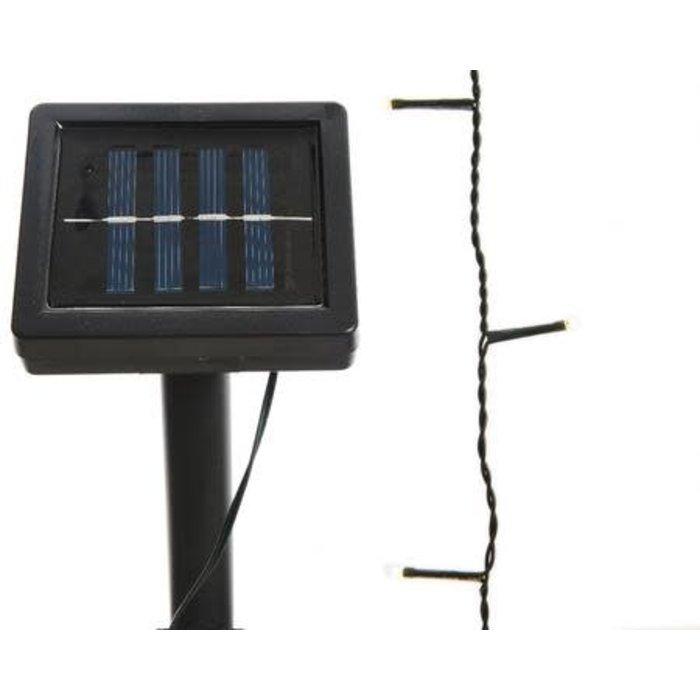 Solar LED Outdoor String Light Warm White 32ft