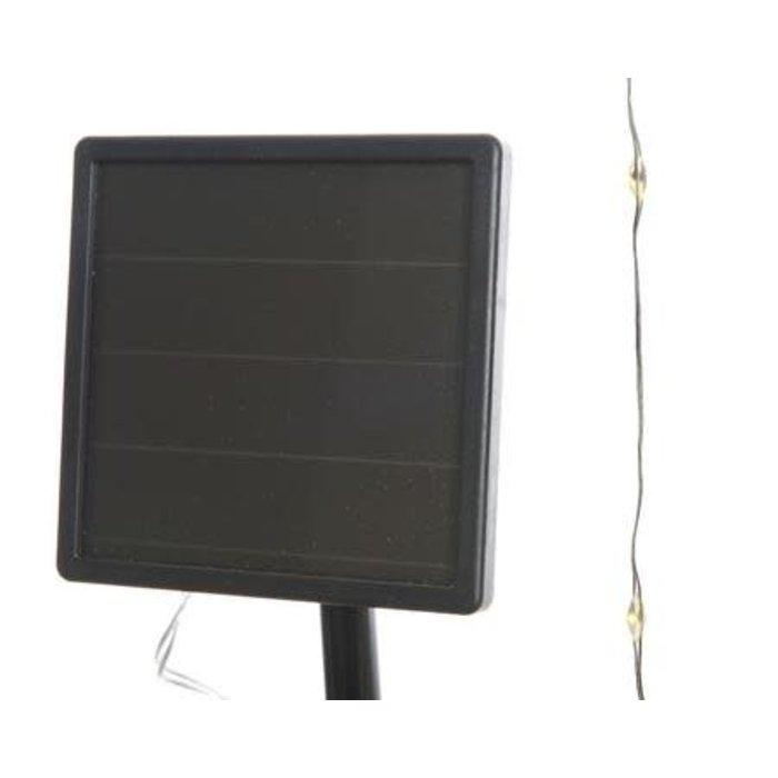 Solar Micro LED String Light Warm White 32ft