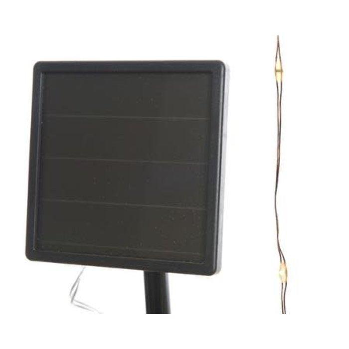 Solar Micro LED String Light Classic Warm 32ft
