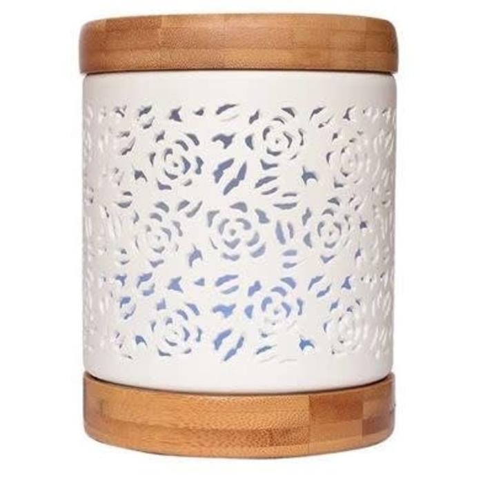 Allure Ceramic and Bamboo Ultrasonic Diffuser