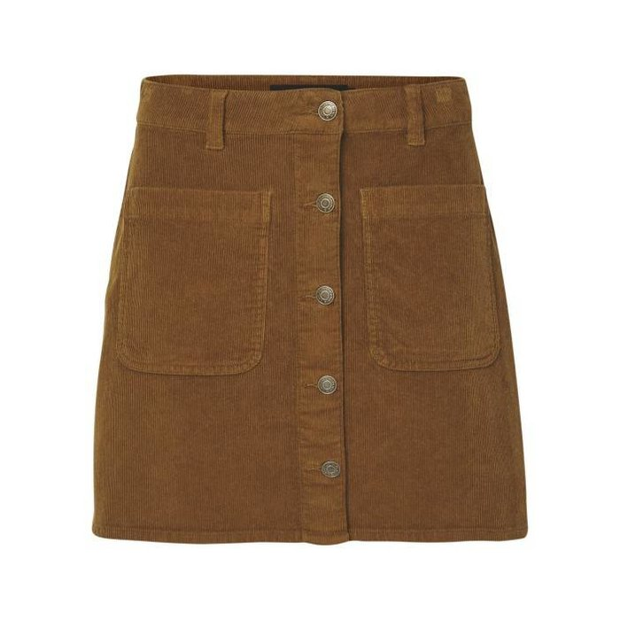 Grace Wide Corduroy Skirt