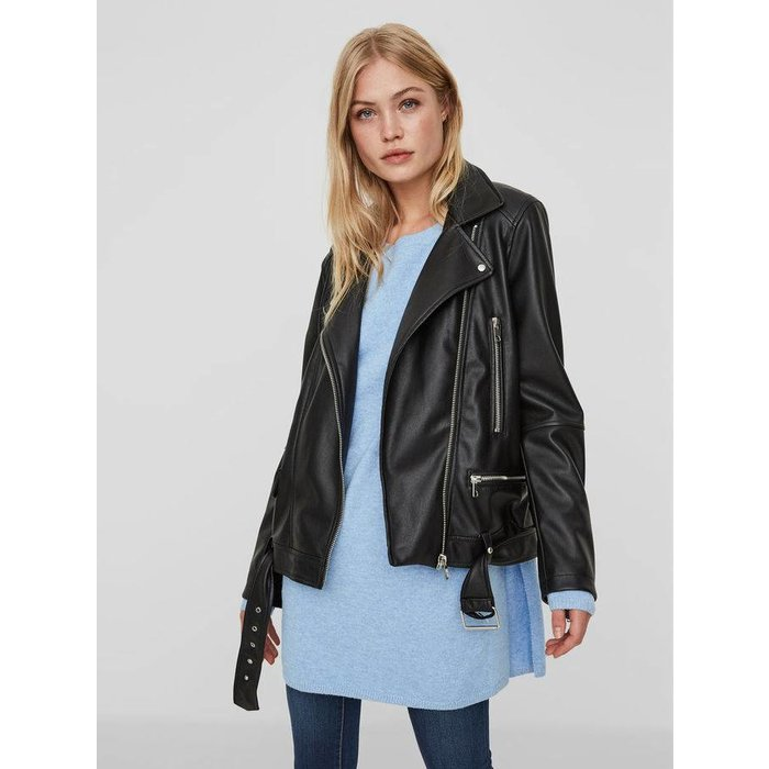 Juhuu Faux Leather Jacket