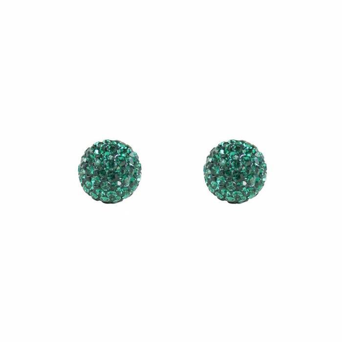 Radiance Stud Emerald