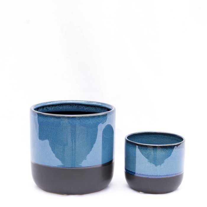 Reactive Glaze Ceramic Pot