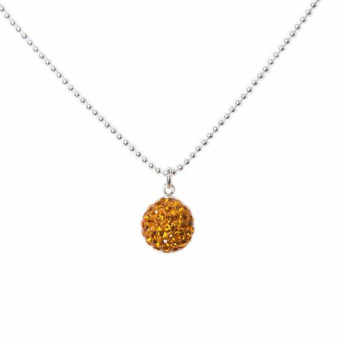 Radiance Necklace Light Orange