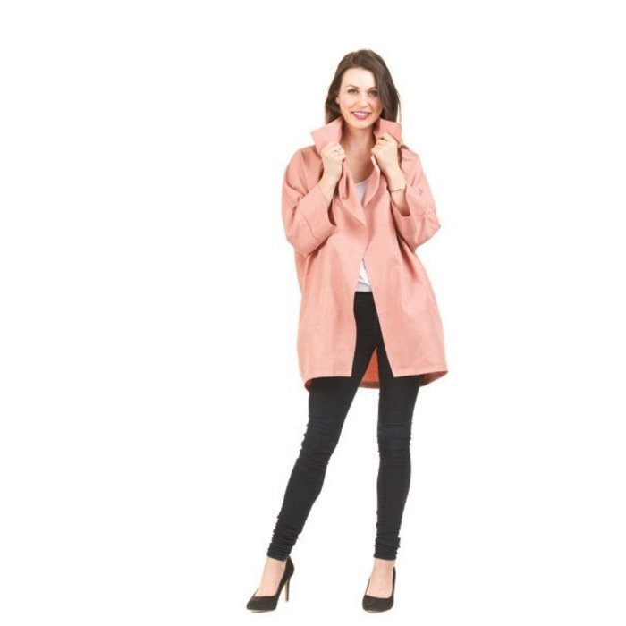 3/4 Sleeve Oversize Jacket
