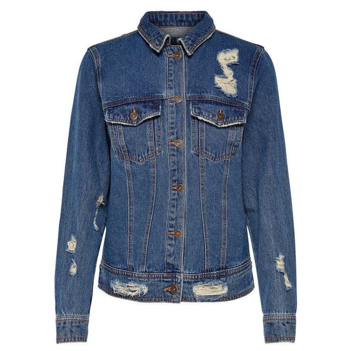 Becky Back Embroidered Denim Jacket