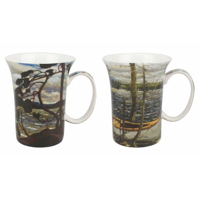 Thomson Canoe West Wind Mug Pair