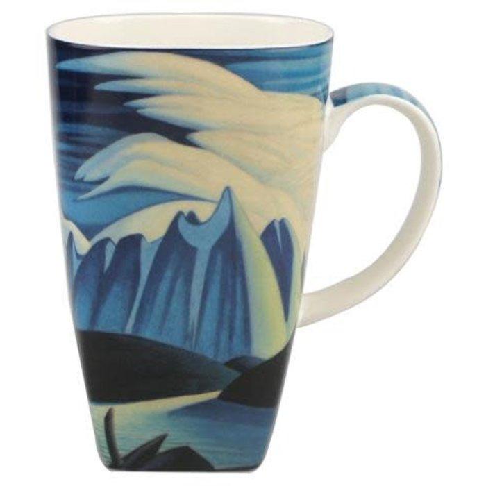 Harris Lake and Mountain Grande Mug