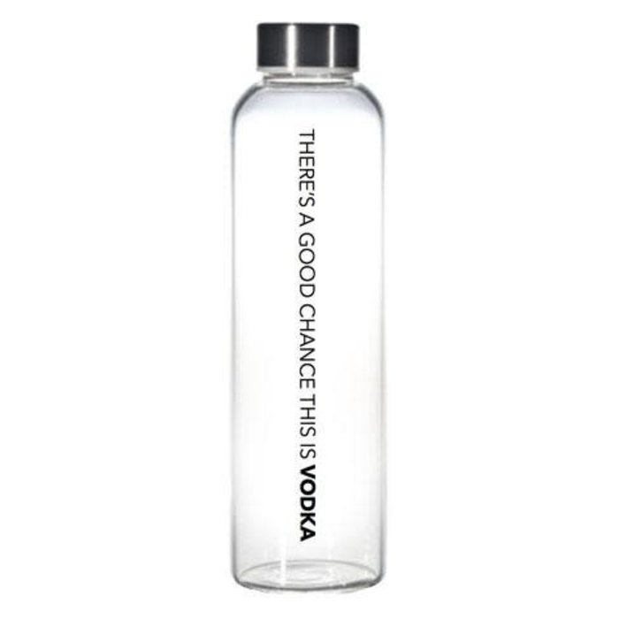 Chance This is Vodka Water Bottle