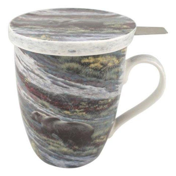 Bateman Grizzlies Tea Mug