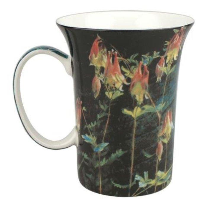 Bateman Ruby Throat and Columbine Crest Mug