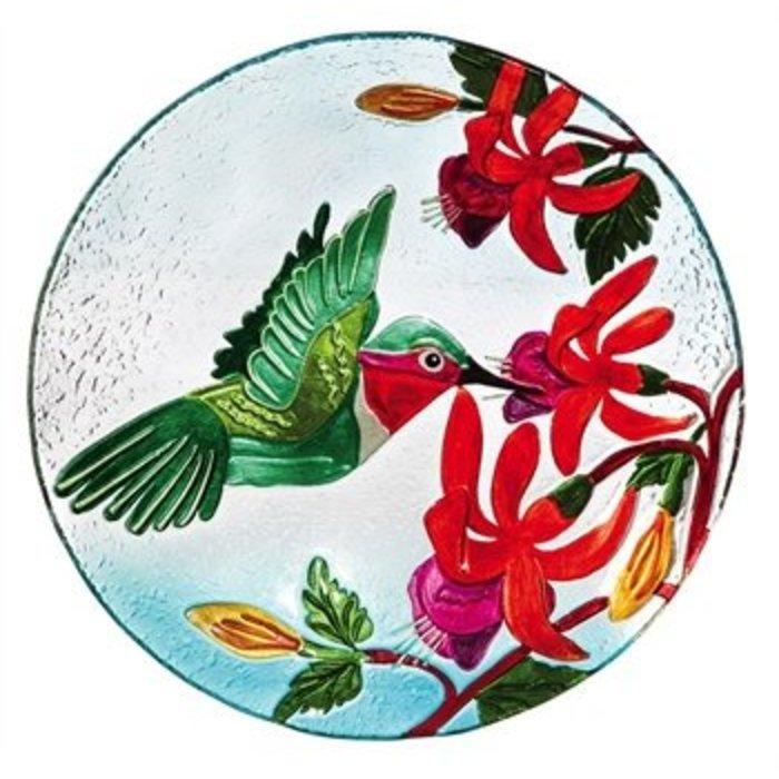 """Hummingbird Flutter Birdbath 18"""""""