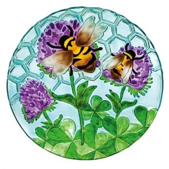 Birdbath Busy Bee Days 18""