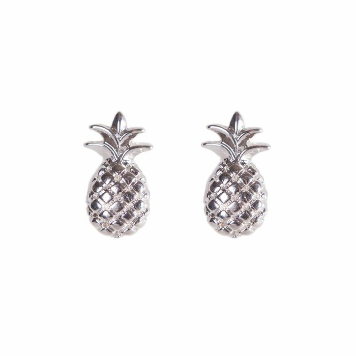 Mini Metal Stud 3D Pineapple