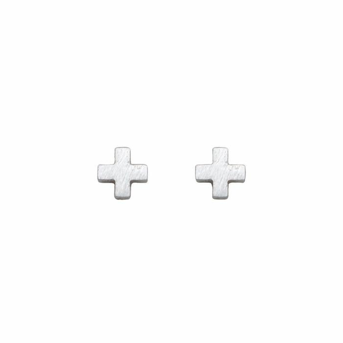 Mini Metal Stud Cross