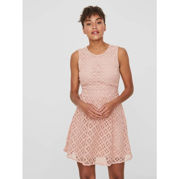 Simone Lace Short Dress