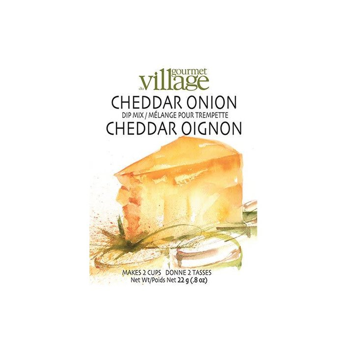 Dip Recipe Box Cheddar Onion