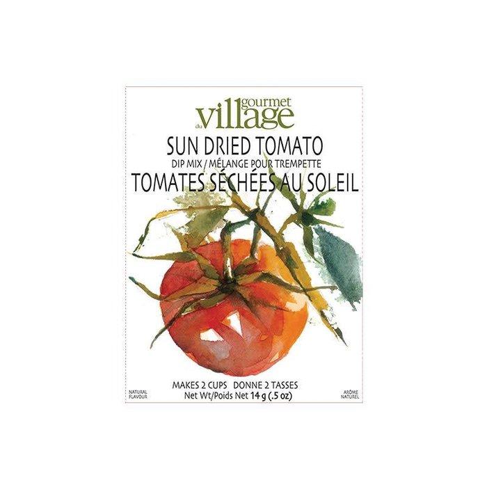 Dip Recipe Box Sundried Tomato