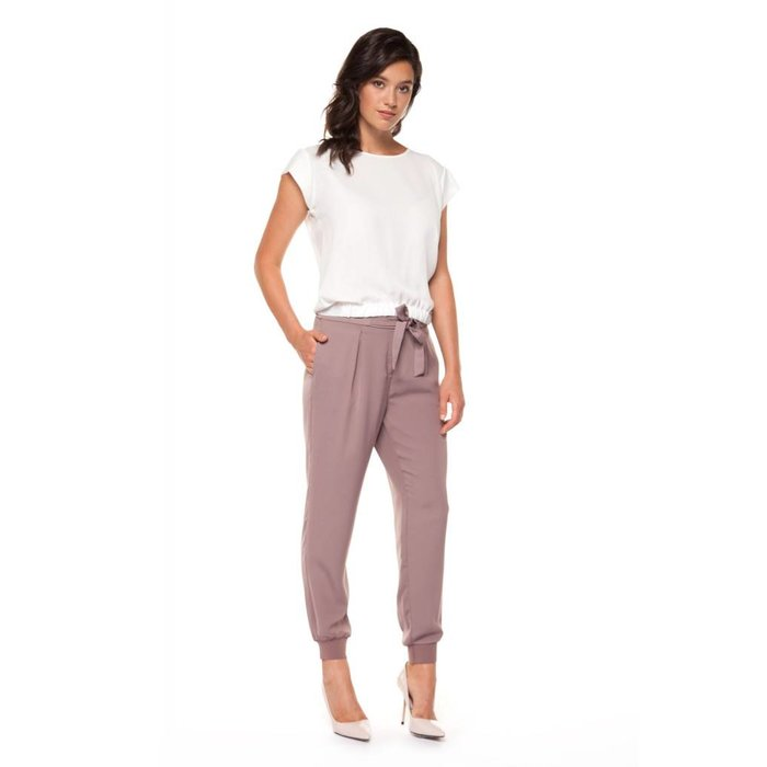 Pull On Jogger with Sash and Cuffs