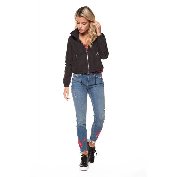 Hooded Zip Up Jacket