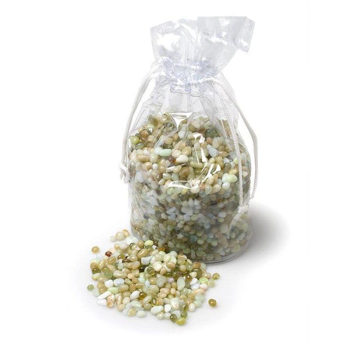 Green Mini Polished Stones