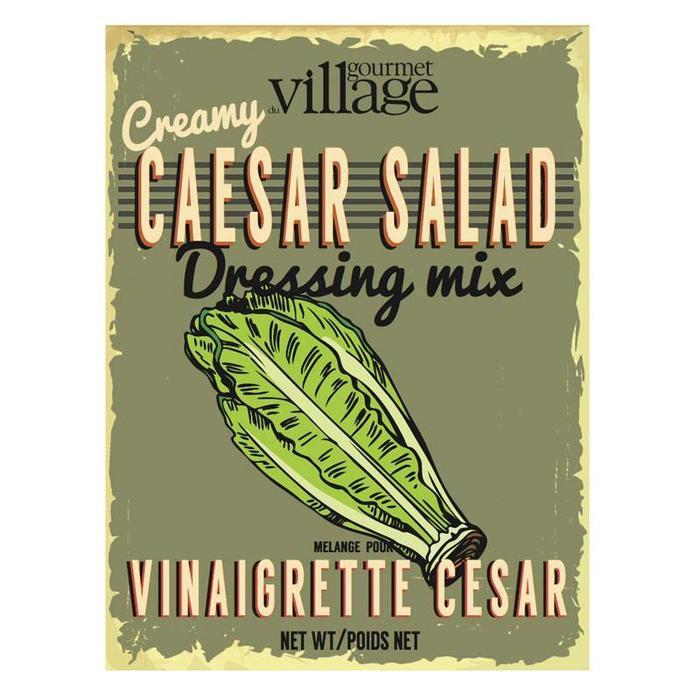Retro Caesar Salad Dressing Mix