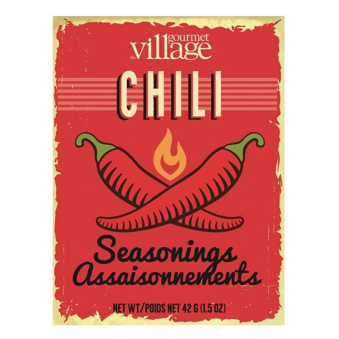Retro Recipe Box Chili Seasoning