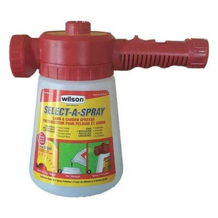 Select a Spray Sprayer