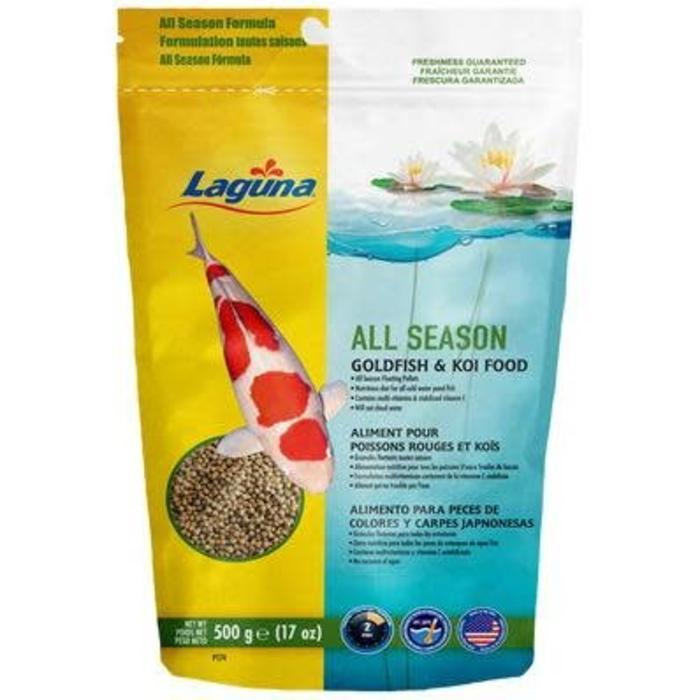 Large All Season Koi Food 17oz