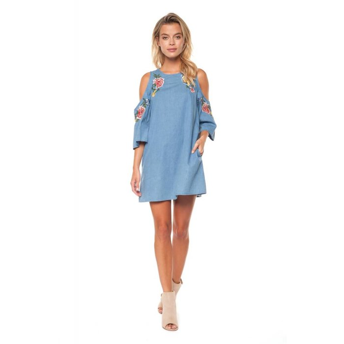Cold Shoulder Tunic Dress