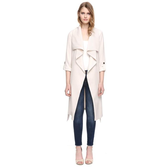 Ornella Draped Trench