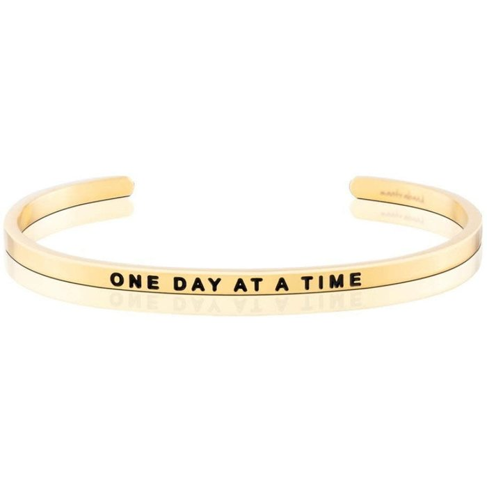 One Day At A Time Yellow Gold