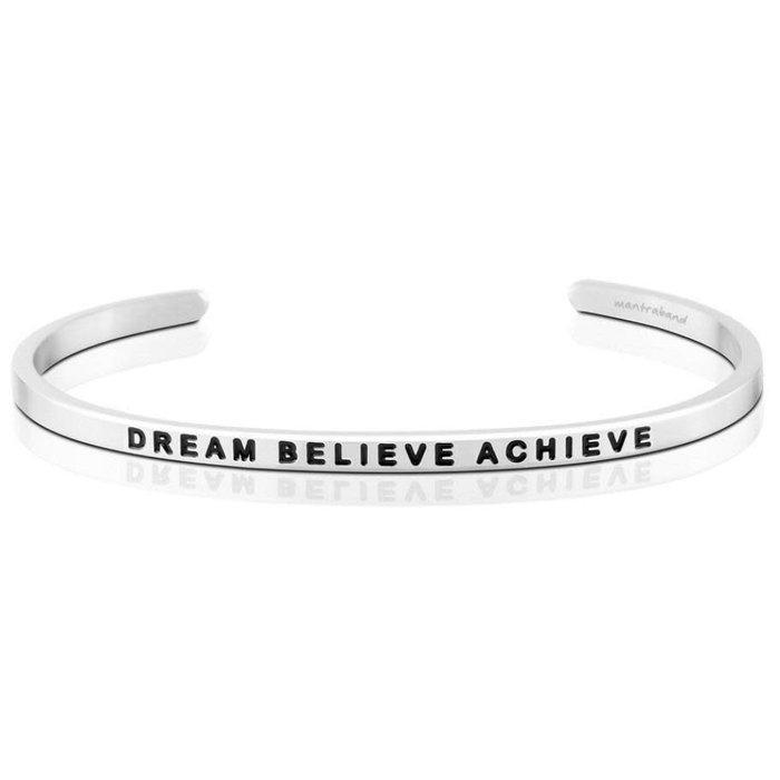 Dream Believe Achieve Silver