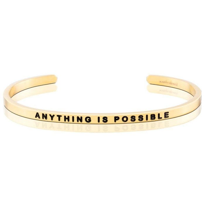 Anything is Possible Yellow Gold