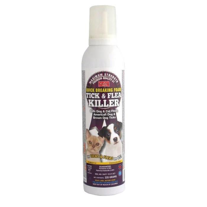Flea and Tick Mousse Spray 225g