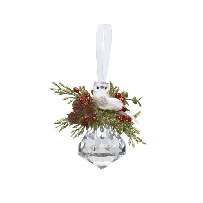 Mistletoe Owl Jewel