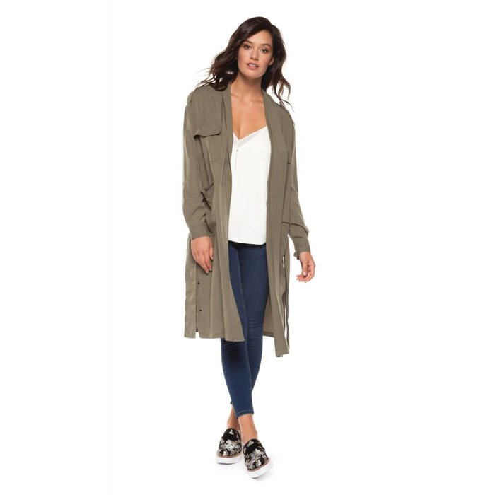 Light Trench Jacket