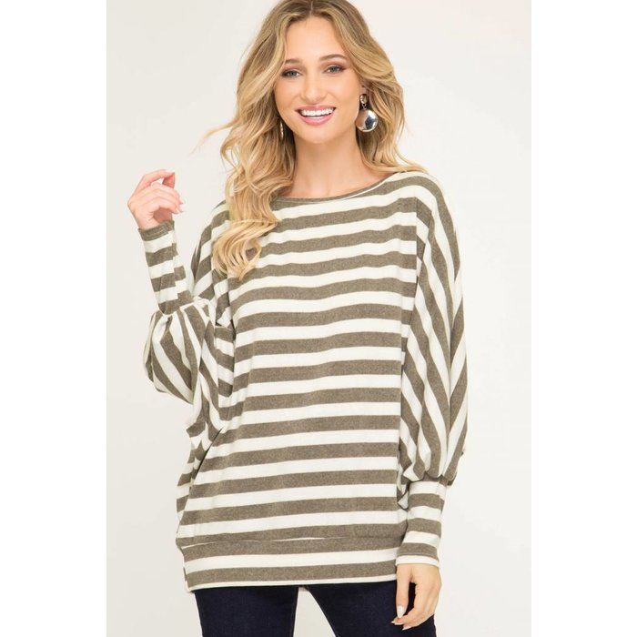 Long Dolman Tunic Top