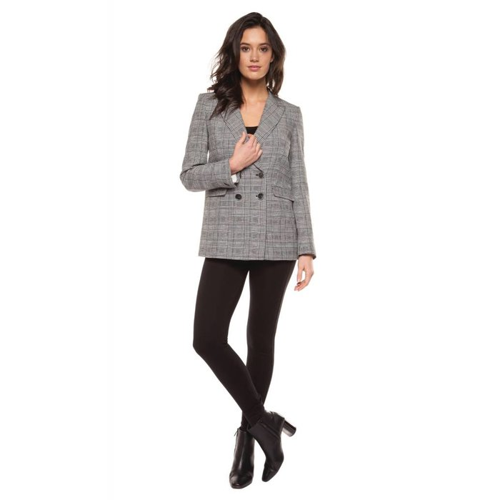 Two Button Boyfriend Blazer