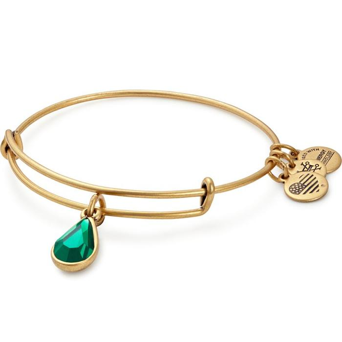 Swarovski Teardrop May Emerald