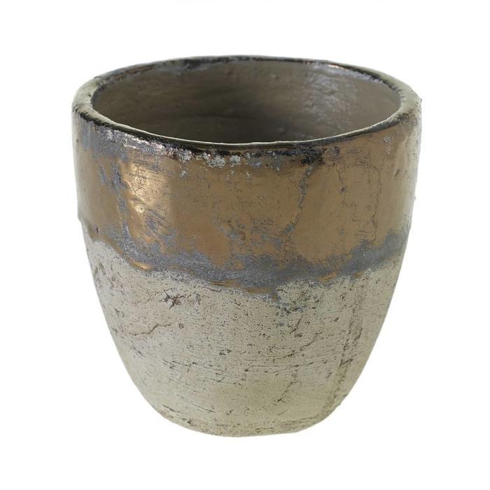 """Muriel Pot Bronze 5.75"""" x 5"""""""