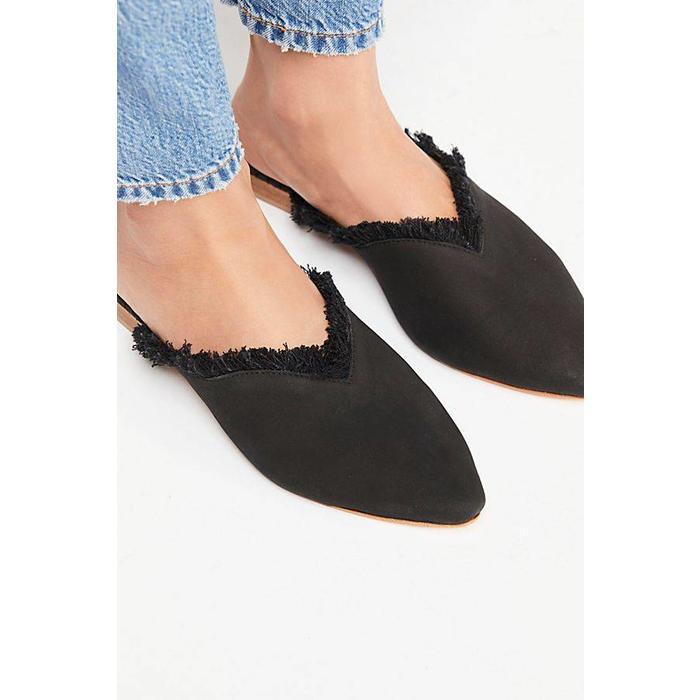 Leather Newport Flat