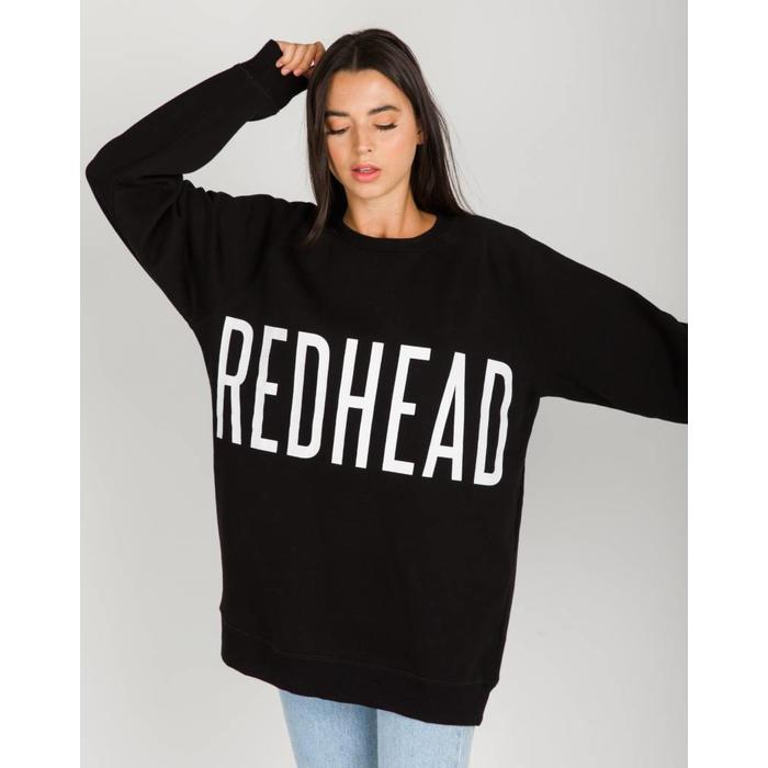 Redhead Big Sister Oversized Crew