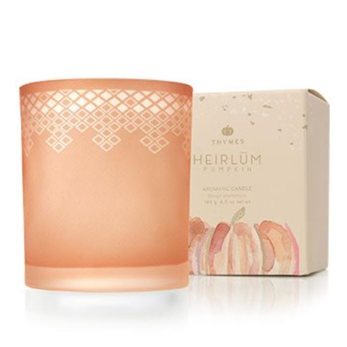 Candle Heirlum Pumpkin